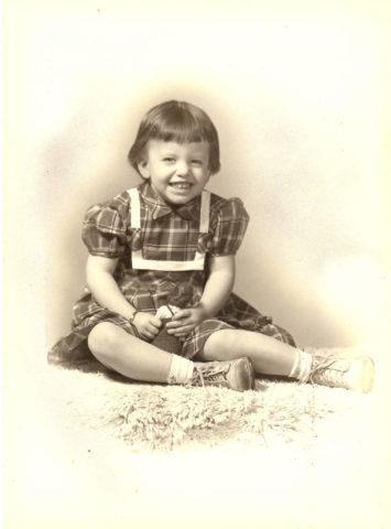Ellen (Appy's great niece, age-3), 1954